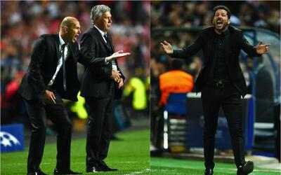 Zidane, Simeone
