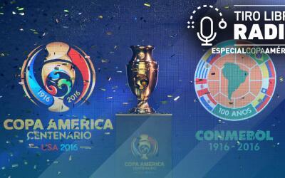 Copa América Centenario Tiro Libre Radio
