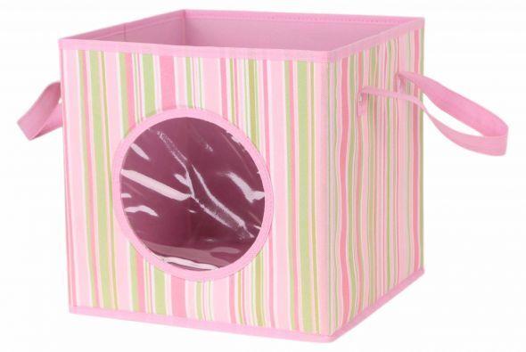 La ropa sucia no debe ser un problema. Coloca una caja con asas al lado...