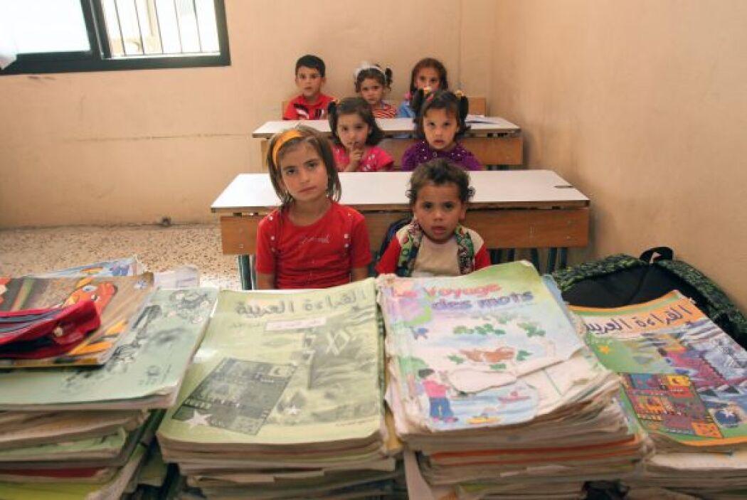 Desde el inicio del conflicto sirio hace más de dos años, 3.900 escuelas...