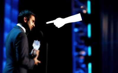 Actor-writer Aziz Ansari for 'Master of None' onstage during the 21st An...