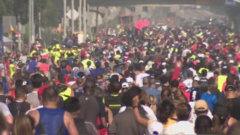 El Maratón de Los Ángeles 2017 culmina con éxito