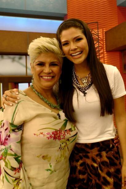 Ana estaba feliz con la visita de la mami de su novio.