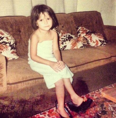 """""""Del baúl de los recuerdos. Foto mía de niña, como ven desde entonces me..."""