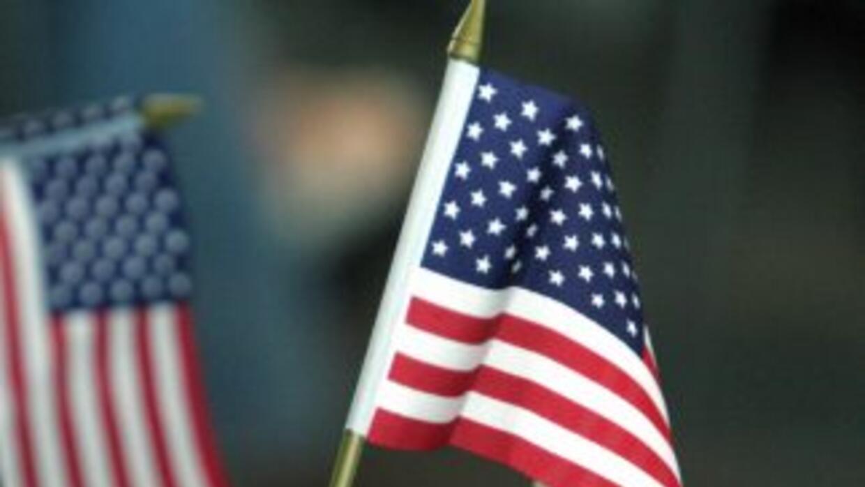 Bandera de Estados Unidos.