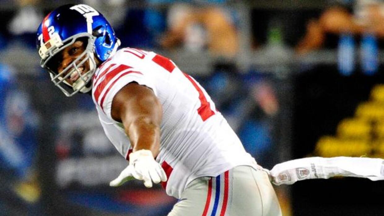 El ex ala defensivo de los Giants ahora volará con los Falcons.