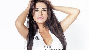 La exuberante paraguaya quien es hincha a muerte de Real Madrid se quedó...