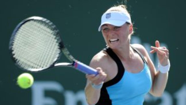 Vera Zvonareva es la favorita del torneo de Bakú y avanzó a cuartos de f...
