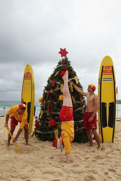 Y desde el otro lado del mundo, literalmente, los australianos celebran...