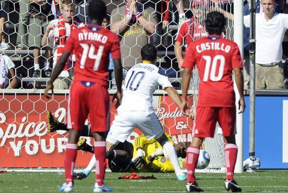 Landon Donovan fue el villano del Galaxy al fallar un penalti contra Chi...
