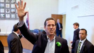 El aspirante presidencial republicano Rick Santorum dijo la semana pasad...