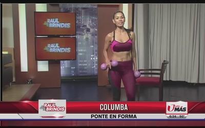 Tips para ponerte en forma con Columba