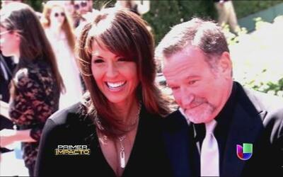 La viuda de Robin Williams reveló que padecía de Parkinson