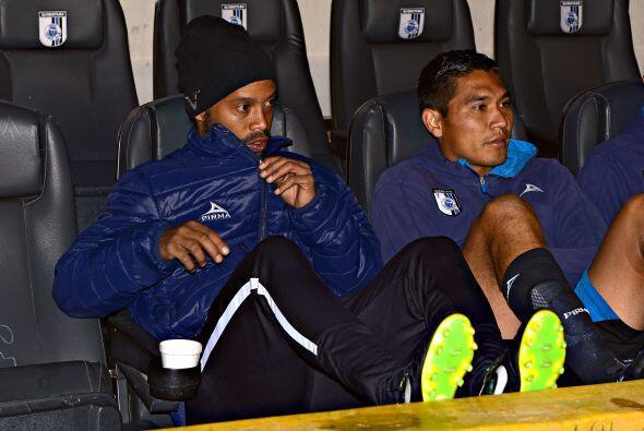 Dinho ha jugado 209 minutos de liga con el Querétaro a un costo de más d...