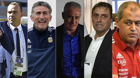 Entrenadores Sudamérica