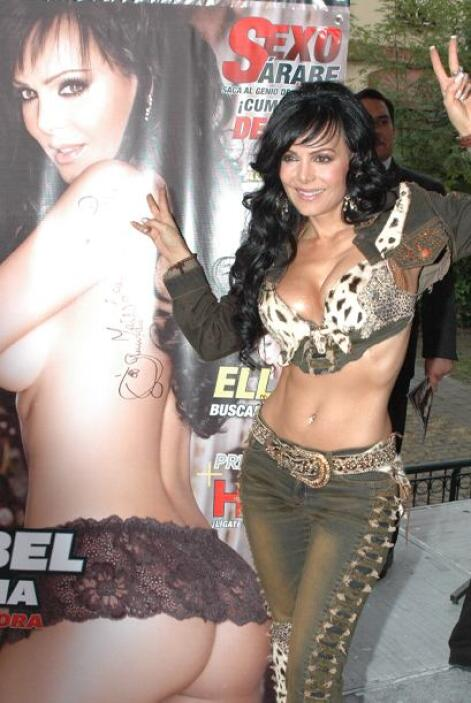 Maribel Guardia es una de las actrices con más curvas.