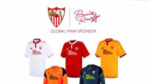 Sevilla FC llevará logo de Puerto Rico en sus camisetas