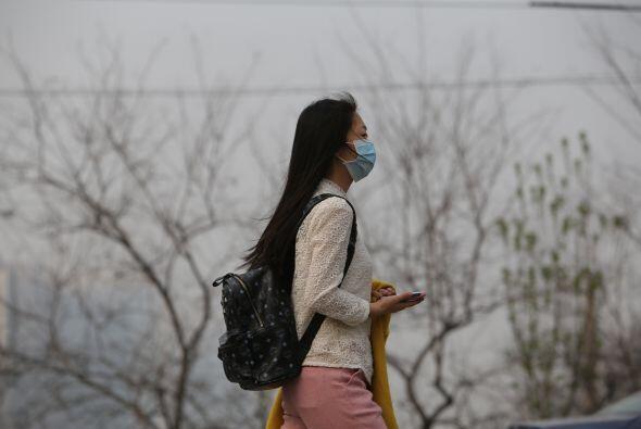 Zhengzhou es una de las ciudades más contaminadas de China, y ocu...