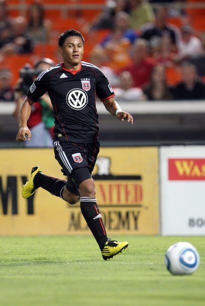 Andy Najar, el máximo anotador del D.C. United, es también...