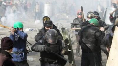La seguridad de Ucrania anunció operación antiterrorista en el país tras...