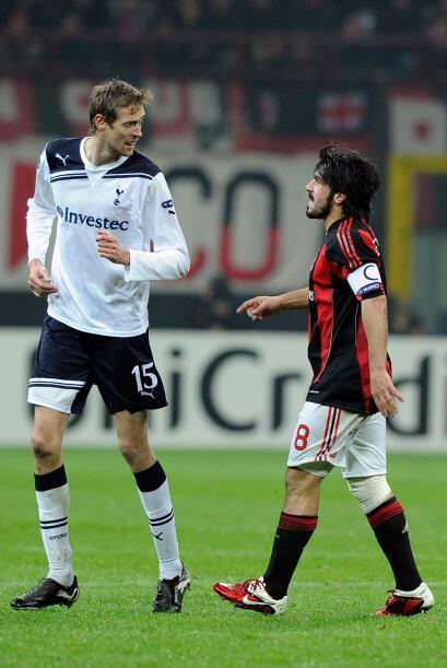 Crouch no se asustó ante los insultos y reproches del italiano y el inte...