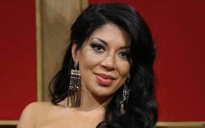 Vicky Terrazas, cantante del grupo Los Horóscopos de Durango e integrant...