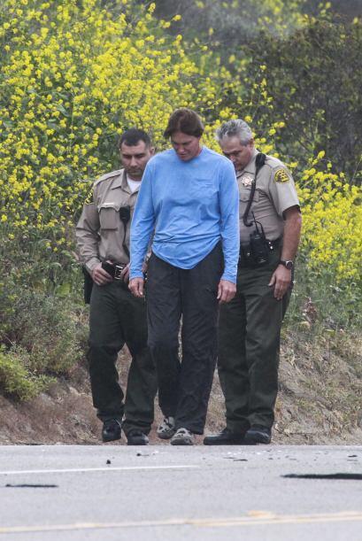 Los oficiales le realizaron el test de sobriedad.