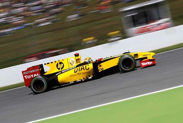 El polaco Kubica no tuvo el auto que deseaba para esta carrera.