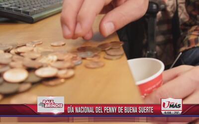 Día nacional del penny de la buena suerte