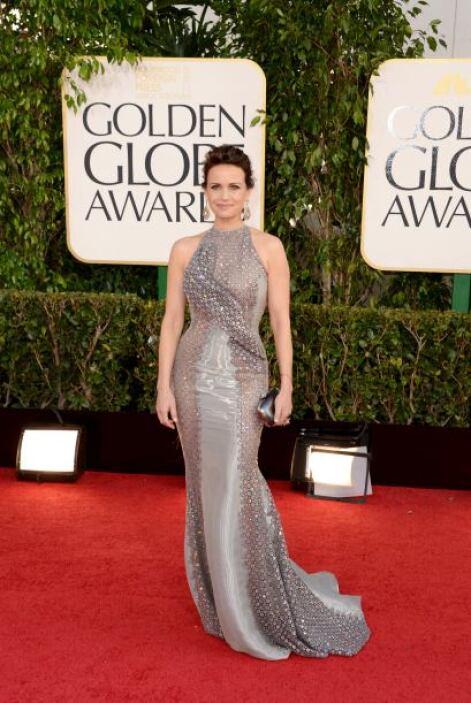 Carla Gugino es una de las celebridades que dio gusto ver en esta alfomb...