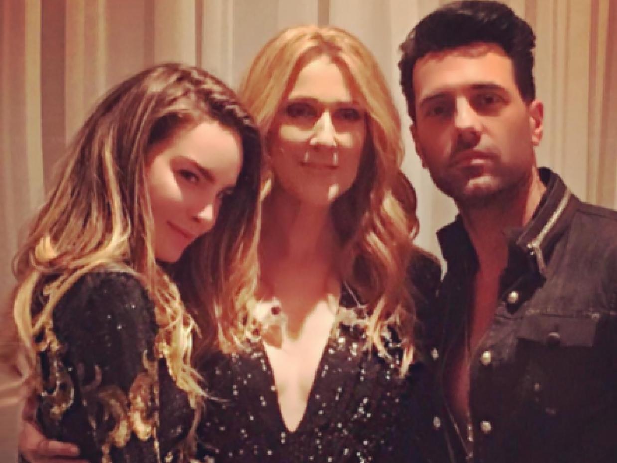 En noviembre, Belinda y Criss Angel saludaron a la cantante canadiense C...