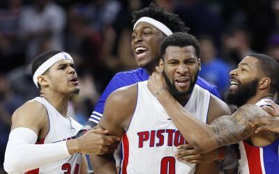 Andre Drummond firma con los Pistons por 5 años.