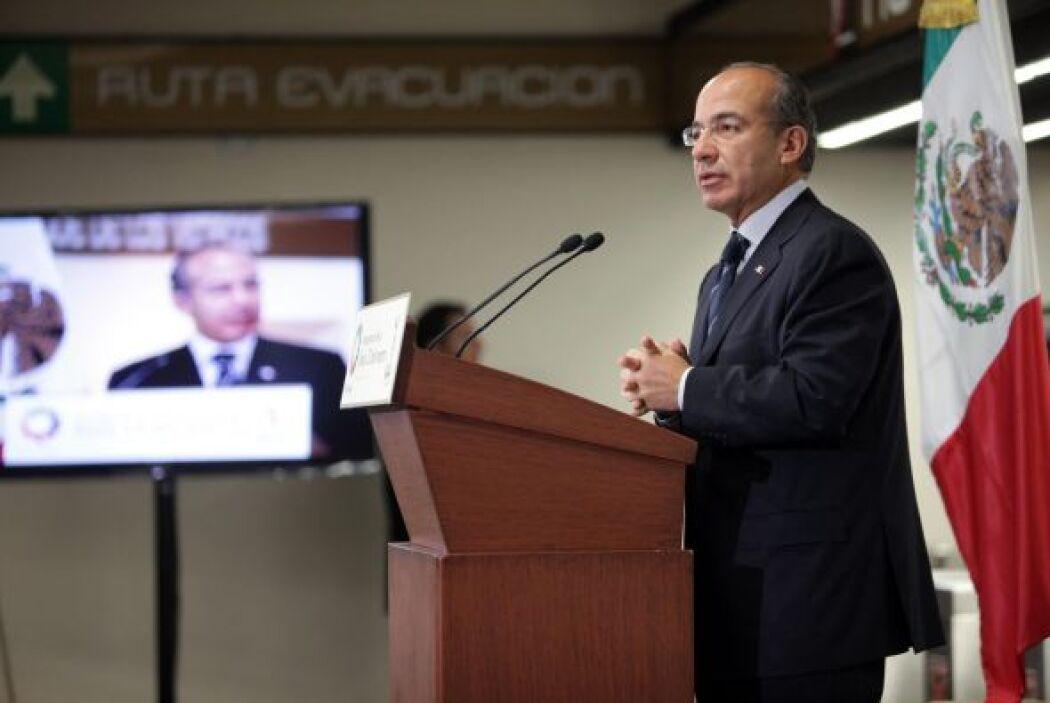 Con Felipe Calderón terminaron 12 años de gobierno panista, y dio paso a...