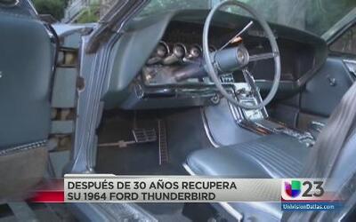 Recuperó auto robado 30 años después