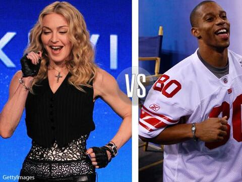 Madonna y Víctor Cruz le pusieron sabor latino al Super Bowl XVLI...
