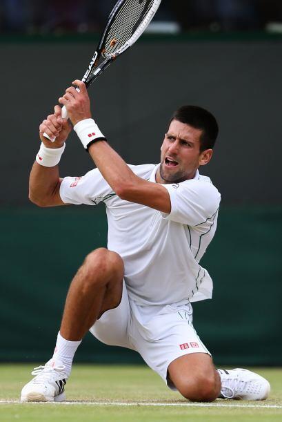 Djokovic, que disputó sus últimos tres encuentros en Wimbl...