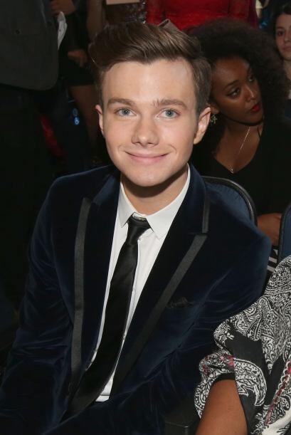"""Chris Colfer de """"Glee""""."""