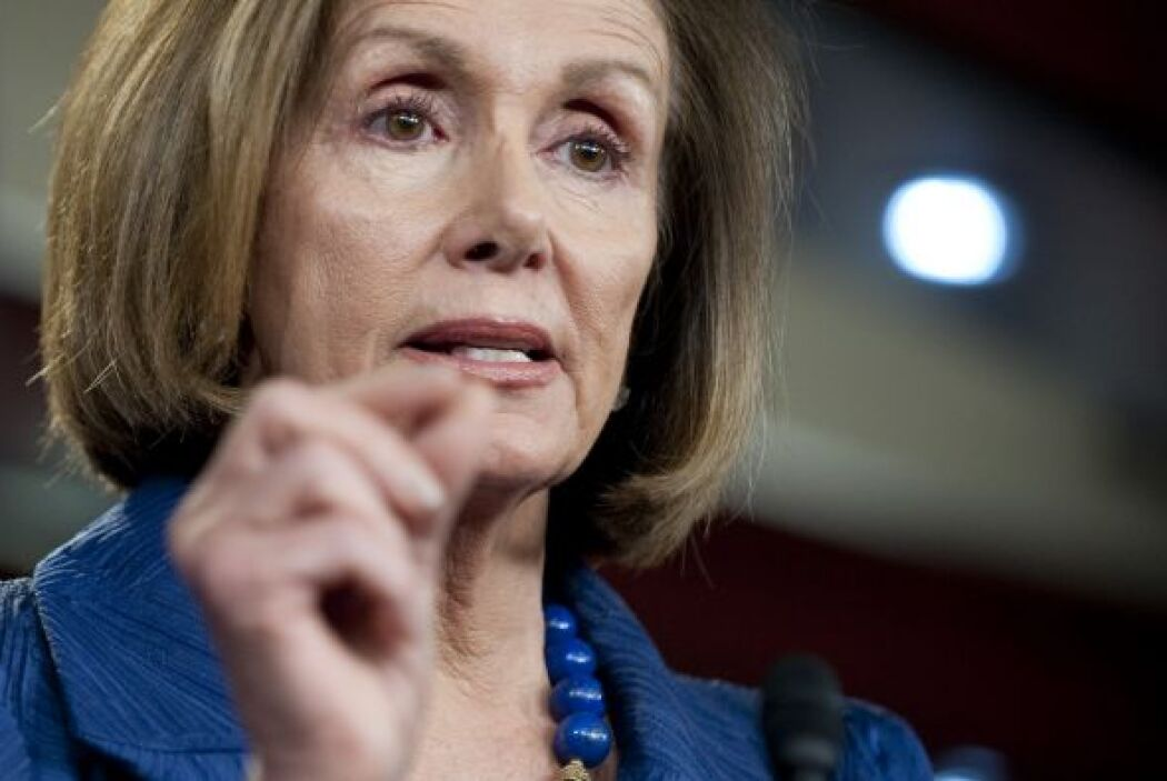 8. Nancy Pelosi (D-Calif.): Pelosi, quien representa el 8vo Distrito del...