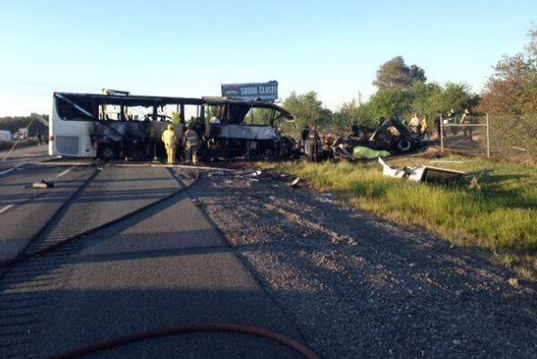 El accidente fue reportado a las 5:41 de la tarde. Imagen tomada de Twit...
