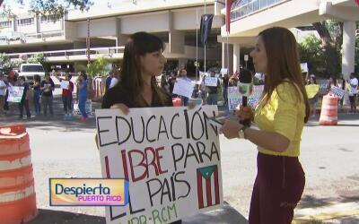 """""""Esta lucha no para aquí"""": estudiante de la Escuela de Medicina de la UPR"""