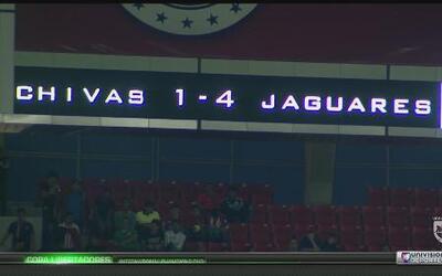 A Chivas le abollaron la copa de campeones en la Copa MX