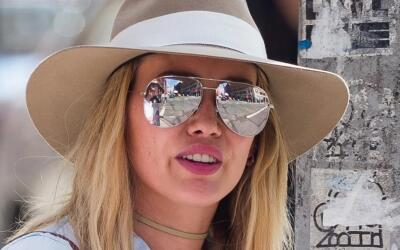 Hilary Duff revela su debilidad: comer cosas fritas