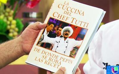 El libro de cocina del Chef Tutti