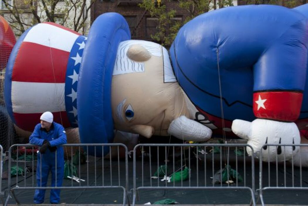 Este año, con motivo de los destrozos ocasionados por el huracán 'Sandy'...