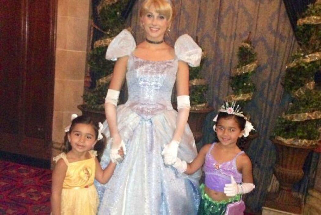 Bárbara Bermudo festejo el quinto cumpleaños de su princesa, Mía en el m...