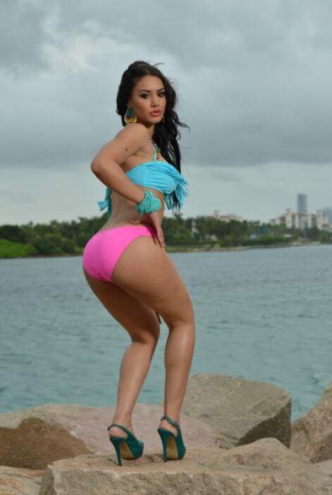 En el 2009 fue finalista de Nuestra Belleza Latina. ¡Pues claro que iba...