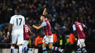 El Aston Villa le sacó un empate al Leicester