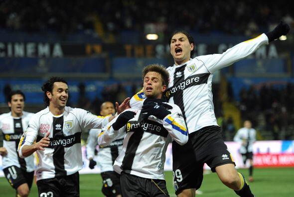 Hablando del Lecce, visitó al Parma en un partido espectacular.