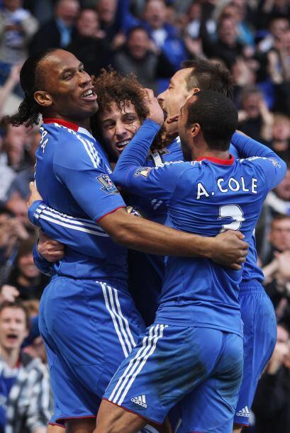 De la mano de un gran esfuerzo y juego de equipo el Chelsea sacó un impo...
