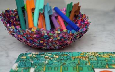 DIY: Divertido bowl de confetti para hacer con tus hijos